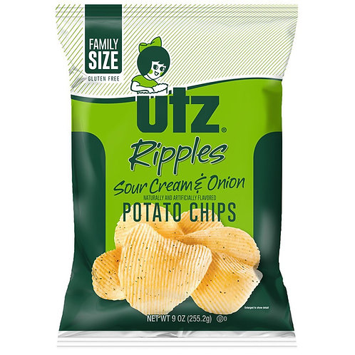 Utz Sour Cream Chip 2.87oz