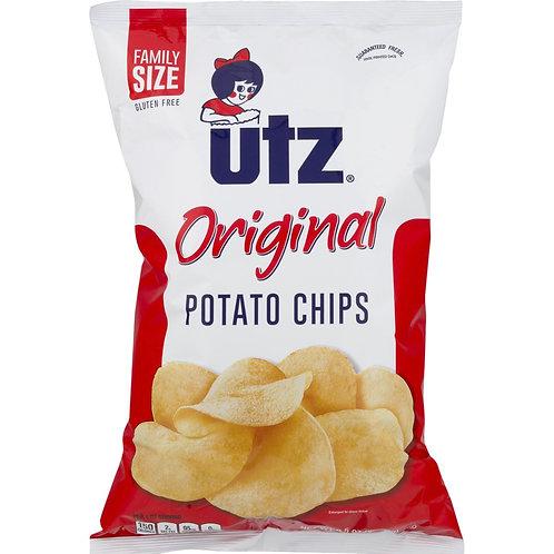 Utz Plain Potato Chips 2.87 oz
