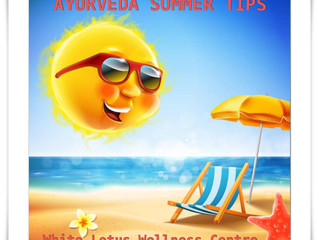 Ayurveda Tips to Stay Cool in Summer