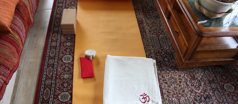 Quelques Accessoires de Yoga