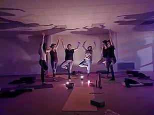 Cours de yoga salle de Laroquebrou