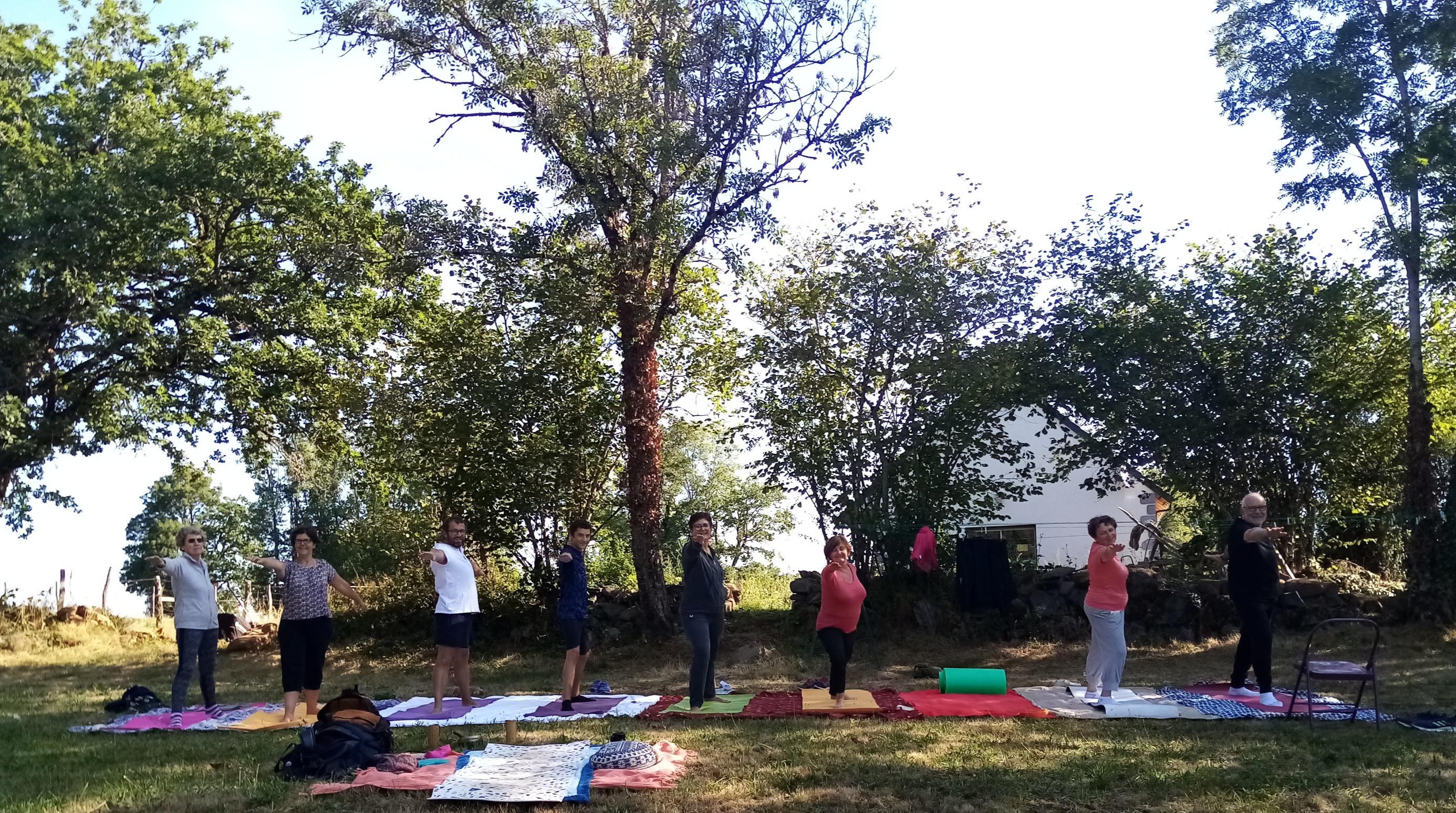 cours de yoga commune de Arnac