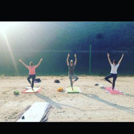 cours de yoga village vacance la gineste