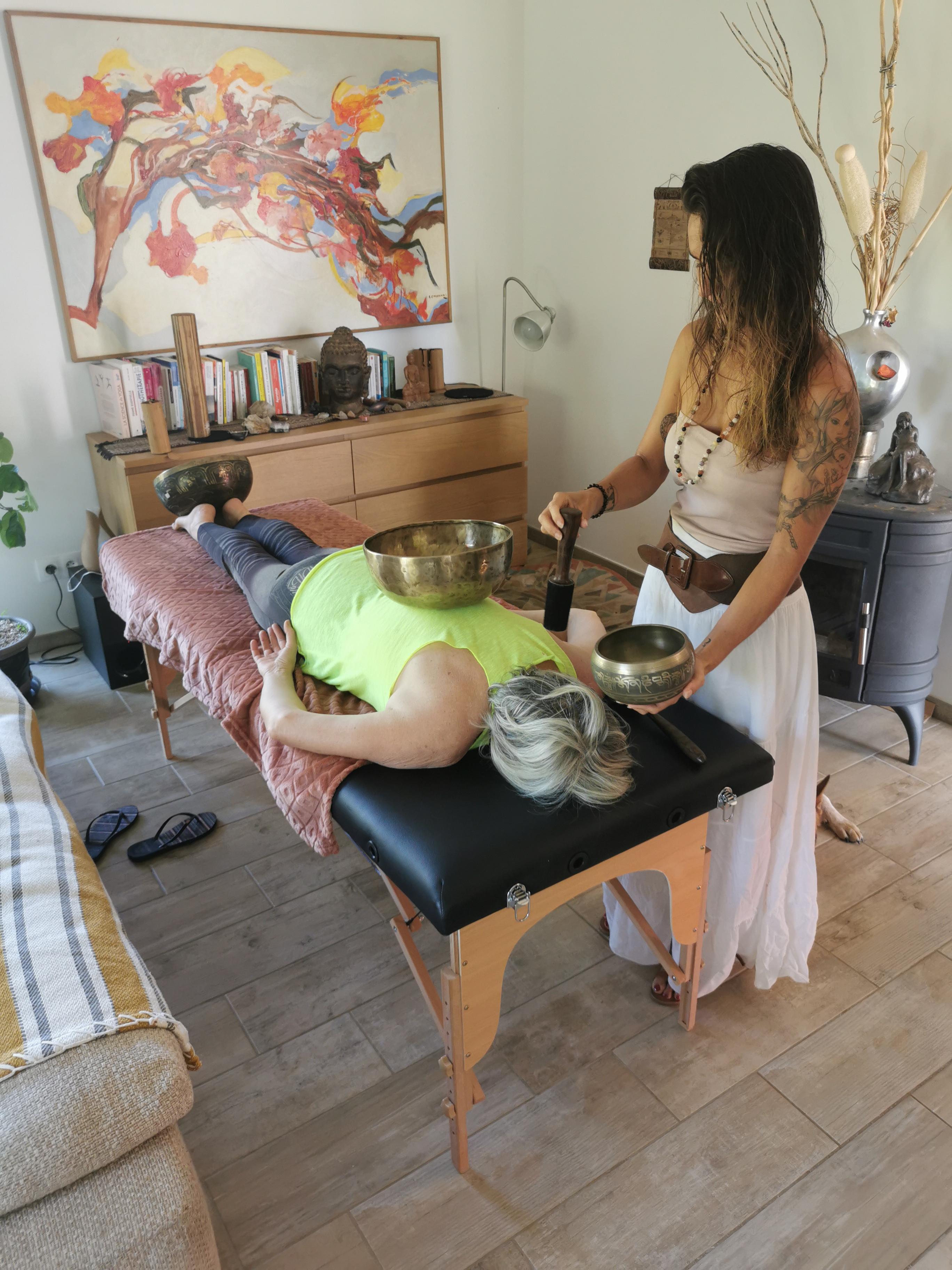 Sonothérapie au pôle santé équilibre