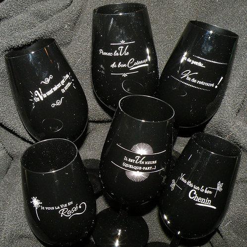 """""""Les Dis Vins"""" (6 verres)"""