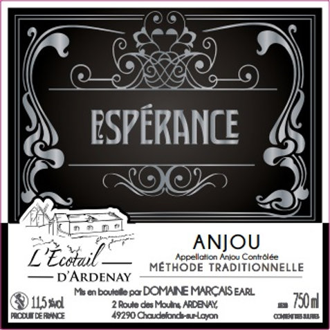 """Anjou Fines Bulles """"Espérance"""""""