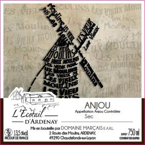 """Anjou Blanc sec """"Les Vieux Moulins"""" (vrac)"""