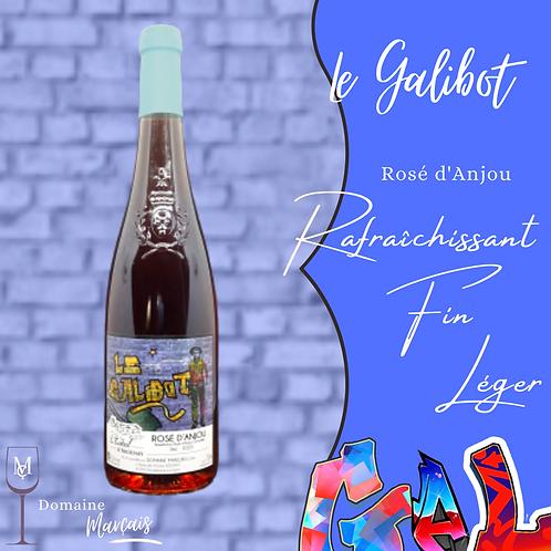 "Rosé d'Anjou sec ""Le Galibot"""