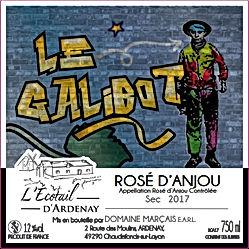 Galibot Rosé d'Anjou