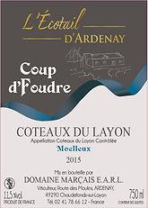Coup d'Foudre Moelleux Coteaux du Layon