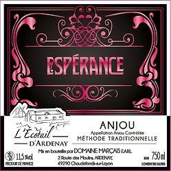 Espérance Méthode Traditionnelle rosé