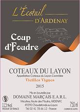 Coup d'Foudre Vieilles Vignes Coteaux du Layon