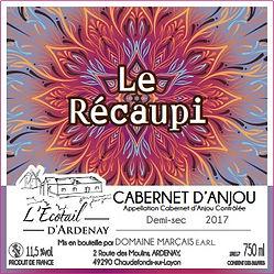 Récaupi Cabernet d'Anjou