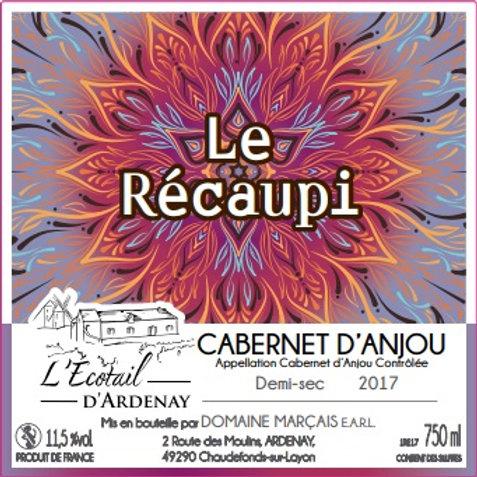 """Cabernet d'Anjou demi sec """"Le Récaupi"""""""