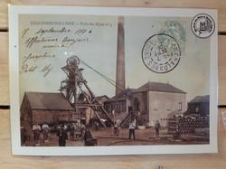 Puits des mines n°4 vers 1900