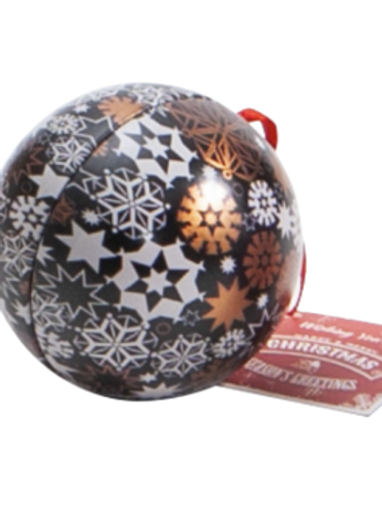 Boule de Noël garnie