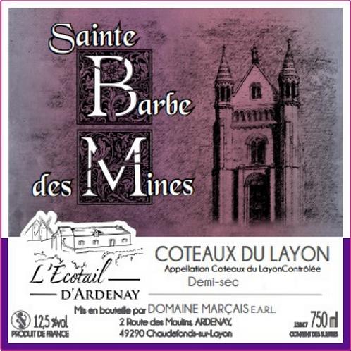 """Coteaux du Layon demi sec """"Sainte Barbe des Mines"""""""