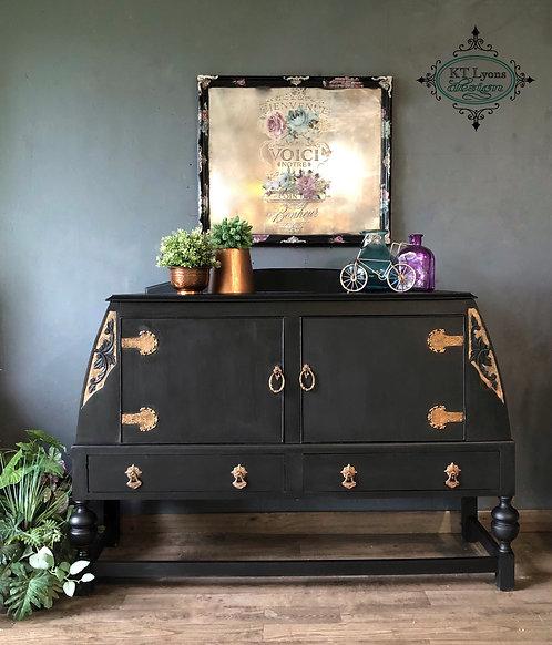 Black Antique Buffet