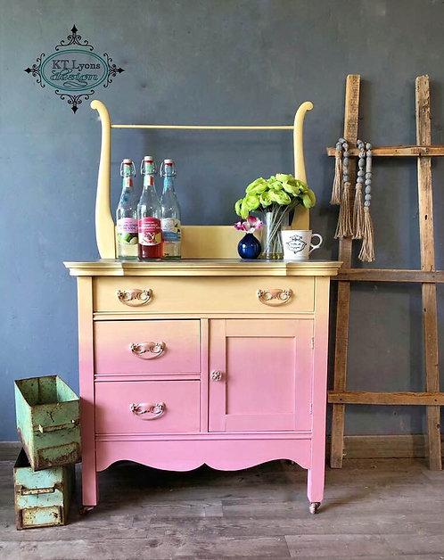Coffee Bar/Antique Washstand