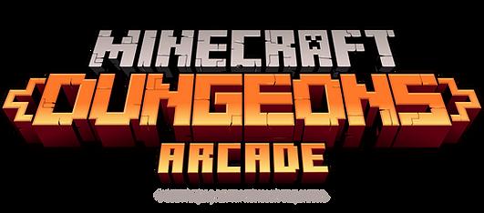 Minecraft Dungeons Arcade - Logo (1).png