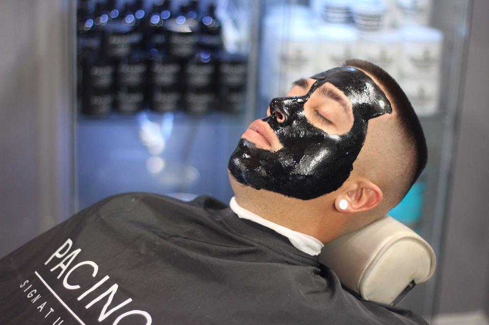 Stříhaní + Black mask peeling