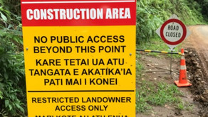 Work sites off-limits to the public