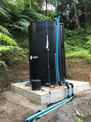 PACl dosing tank