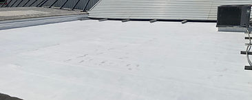 Roof coating and waterproofing  Water proofing, Corrosion barrier  ​  Every structure presents unique challenges. Our team utilizes multiple coating systems to achieve the goals of the project.  Some of those coatings include: Epoxy, Polyurethane, Elastomeric, Silicone, Butly to name a few.  The right roofing system can achieve a watertight barrier that reflects heat and provides years of service.