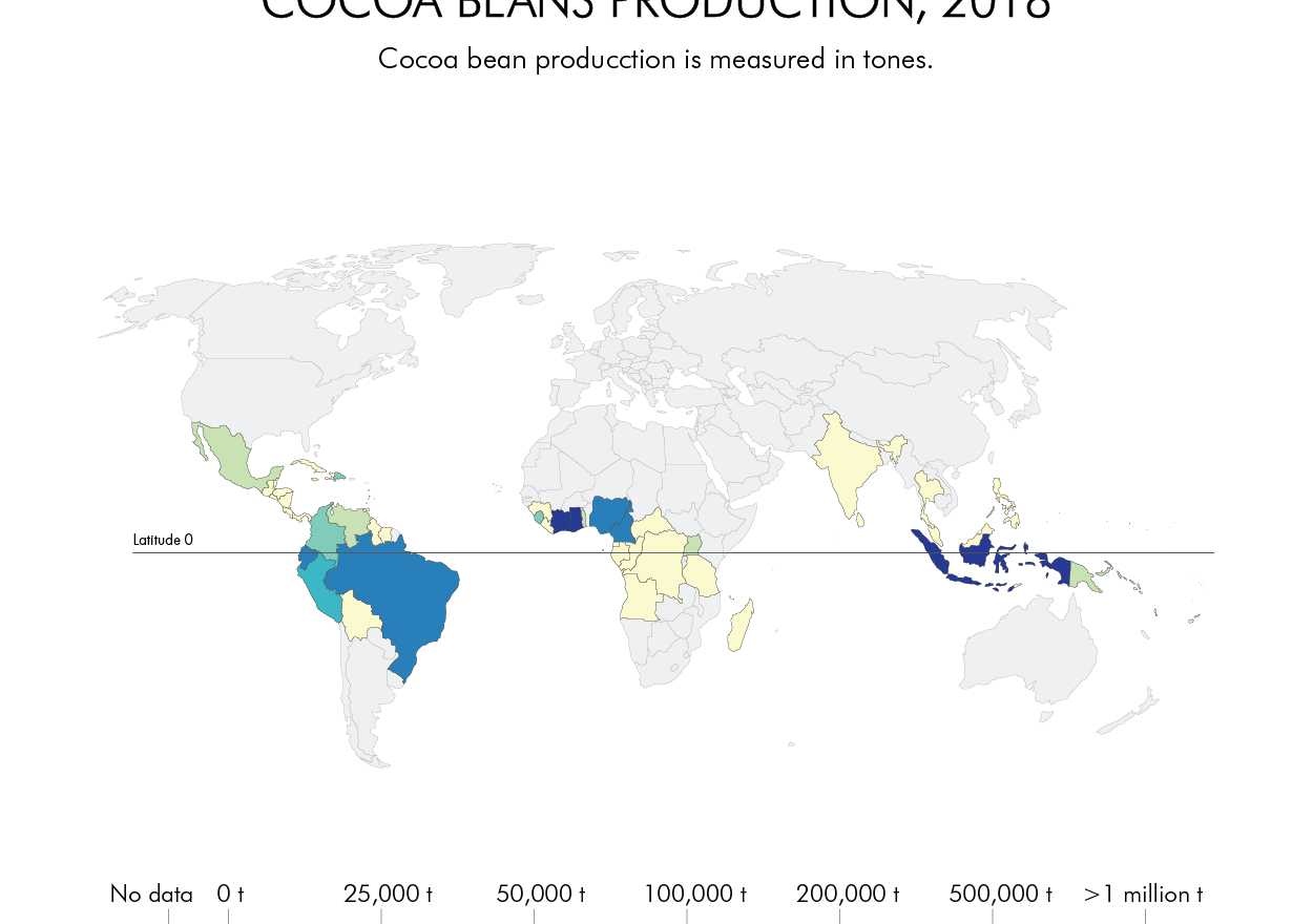 COCOA BEANS PRODUCTION