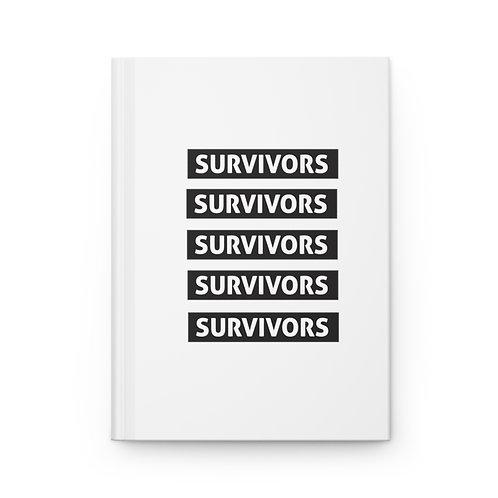 Survivors Elite Hardcover Journal | Matte