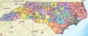 norh-carolina-senate-redistricted-map