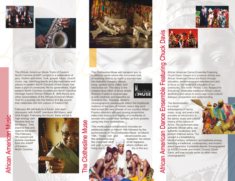 African American Culture Series Promotional Brochure