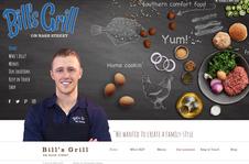 Bill's Grill Website