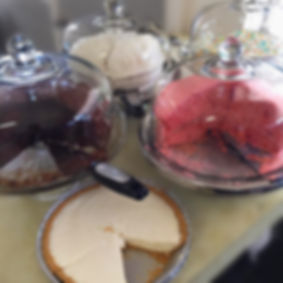 Desserts: cakes and pies from Bill's Grill on Nash