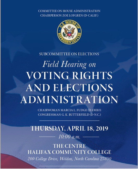 Field Hearing on Voting Rights and Elections Administration