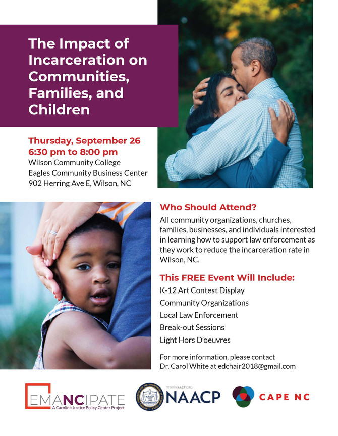 The Impact of Incarceration on Communities, Families, and Children