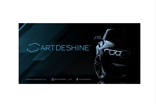 Artdeshine Banner (3Ft x 6Ft)