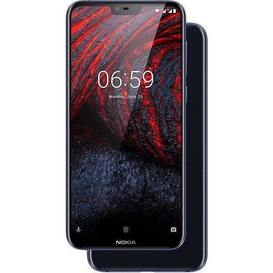 Nokia 6.1 Plus Blue 64GB Storage