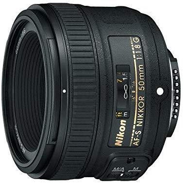 Nikon AF-S NIKKOR 50mm f/1.8G F-Mount Lens