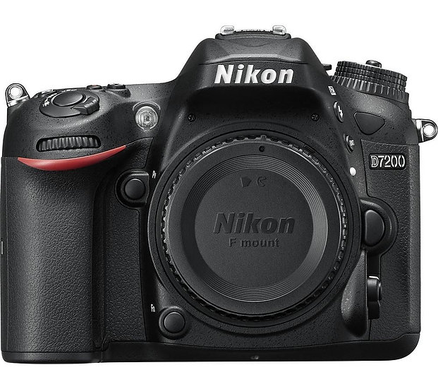 NIKON D7200 DSLR Camera - Body Only (Kit Box)