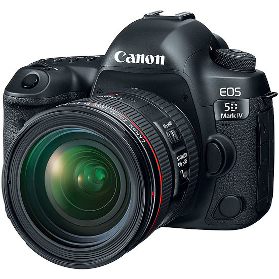 CANON EOS 5D Mark IV DSLR Camera with EF 24-70mm f/4L IS USM Lens