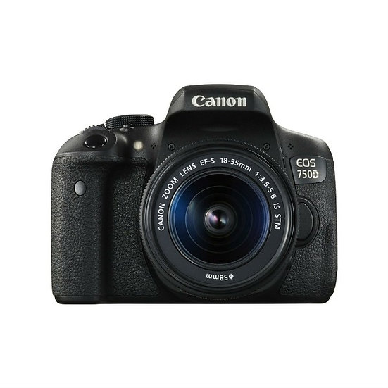 CANON EOS 750D DSLR Camera with EF-S 18-55mm f/3.5-5.6 IS STM Lens Kit