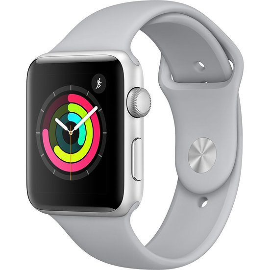 Apple Watch Series 3 42mm Silverwith Fog Sport Band