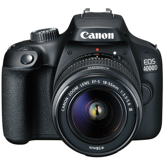 Canon EOS 4000D DSLR Camera with EF-S 18-55mm III Lens