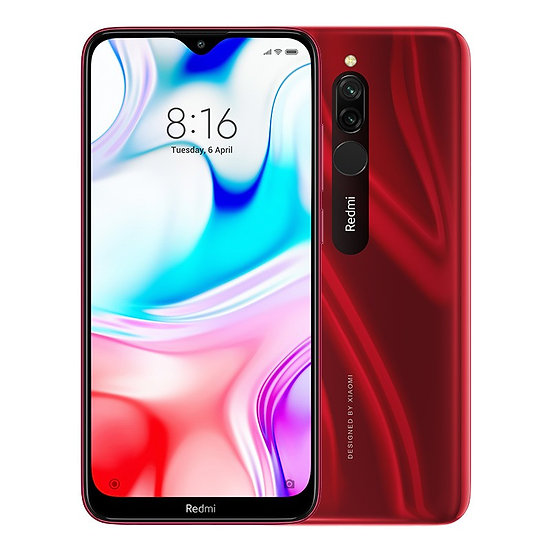 Xiaomi Redmi 8 Ruby Red 4GB RAM + 64GB Storage