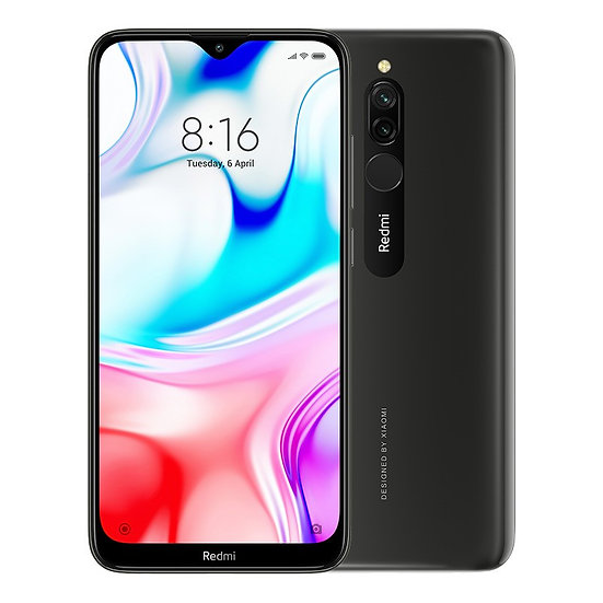 Xiaomi Redmi 8 Onyx Black 3GB RAM + 32GB Storage