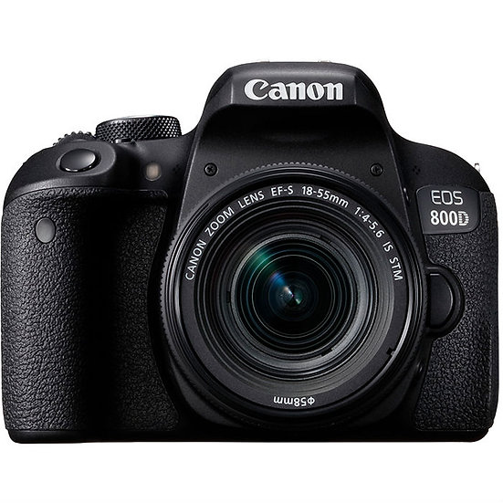CANON EOS 800D DSLR Camera with EF-S 18-55mm f/4-5.6 IS STM Lens Kit