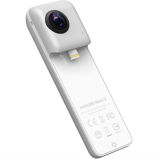 Insta360 Nano S 360° VR Video Camera for iPhone - Silver