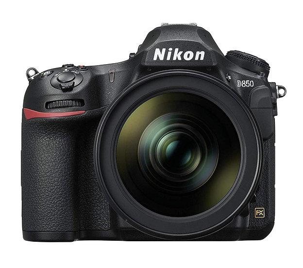 NIKON D850 DSLR Camera with AF-S 24-120mm f/4G ED VR Lens Kit