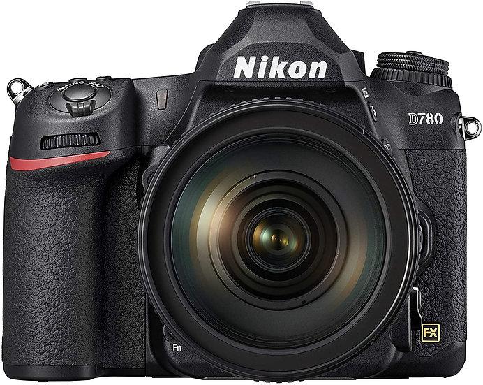 NIKON D780 DSLR Camera with AF-S 24-120mm f/4G ED VR Lens